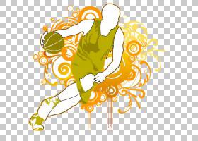 黄花,卡通,植物群,叶,花,黄色,灌篮,NBA,海报,篮球,