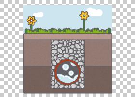 黄花,矩形,花,正方形,黄色,面积,动物,财产,平方米,房子,化粪池,