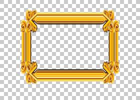 金框框,矩形,线路,文本,面积,花,黄色,数码相框,黄金,相框,