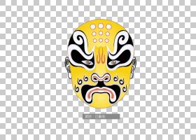 韩国卡通,徽标,头盔,黄色,肖像,黄梅戏,脸,歌剧,中国剧院,剧院,文