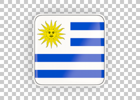 黄花,花,黄色,矩形,按钮,旗帜,乌拉圭国旗,乌拉圭,