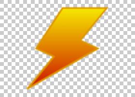 闪电卡通,线路,三角形,橙色,黄色,角度,Adobe Flash,雷击,电力,Ad