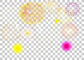 黄花烟花植物模式,野花,蒲公英,植物,烟花,花,黄色,
