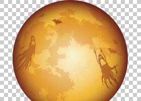 黑猫万圣节,黄色,球体,党,HVGA,10月31日,宠物,假日,爪子,黑猫,万