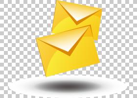 电子邮件按钮,线路,三角形,橙色,角度,电邮,按钮,邮件,黄色,文具,