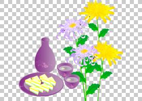 花卉剪贴画背景,插花,分支,花卉,紫色,植物,花瓣,花,黄色,菊花,大