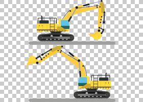 工程卡通,线路,技术,字体,车辆,工程学,黄色,材质,面积,施工设备,