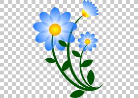 卡通书,牛眼雏菊,植物茎,黛西,雏菊家庭,花,黄色,花瓣,植物群,植
