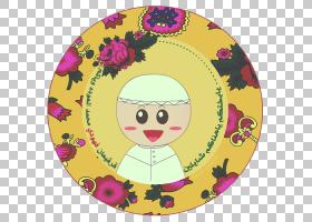 开斋节穆巴拉克黄,微笑,花,黄色,粉红色,剪纸,纸工艺,绘图,工艺,