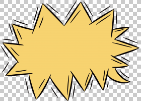 卡通爆炸,线路,角度,树,符号,面积,对称性,叶,黄色,炸弹,贴纸,爆