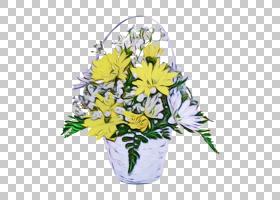 花卉设计,花,黄色,菊花,花盆,人造花,切花,花束,花卉设计,湿墨水,