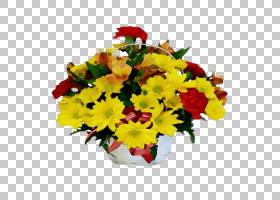 花卉设计,花,黄色,菊花,花盆,人造花,德兰士瓦雏菊,切花,花束,花