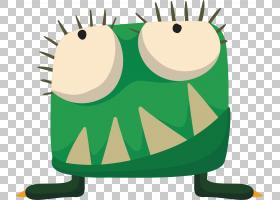 绿草背景,青蛙,草,绿色,卡通,图片