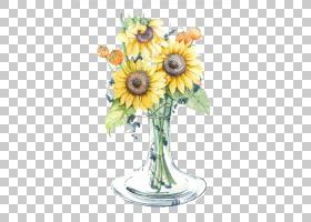 花束画,花卉,插花,雏菊家庭,非洲菊,人造花,花盆,花瓣,向日葵,植