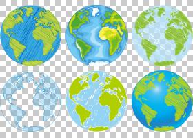 地球卡通图画,地球,行星,手,世界地图,绘图,世界,地球仪,图片