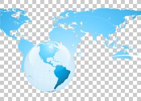 平坦的地球,水,天空,天然地球,平坦的地球,米勒圆柱投影,地图投影