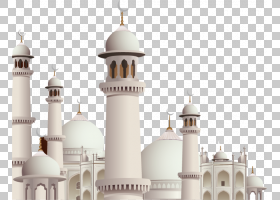 开斋节穆巴拉克蓝,礼拜场所,尖塔,伊斯兰建筑,伊斯兰教,斋月,开斋