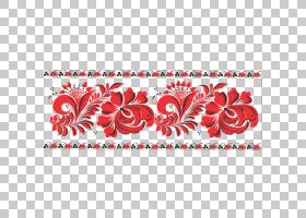 花卉装饰品,视觉艺术,矩形,花瓣,花,红色,绘图,民间艺术,Khokhlom
