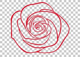 花线艺术,花瓣,植物,面积,圆,线路,红色,着色簿,花,线条艺术,玫瑰