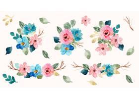 美丽植物花朵背景