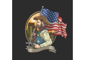 美国抢手牛仔主题时尚个性T恤印花图案设计