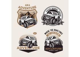 美式卡车主题时尚个性T恤印花图案设计