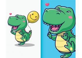 卡通动物形象插画设计