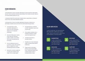 企业商务通用简约画册宣传册模板图片