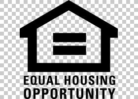 公平住房标志,黑白,符号,线路,徽标,标志,文本,面积,角度,组织,家图片
