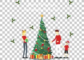 圣诞节和新年背景,假日,云杉,针叶树,装饰,模式,圣诞装饰,松科,火