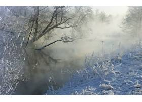 地球,冬天的,秋天,季节,自然,严寒,雪,湖,溪流,河,壁纸,