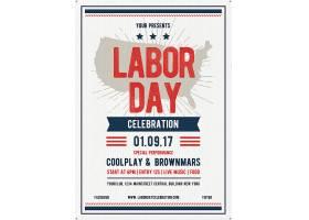 国际劳动节宣传海报设计素材模板图片