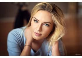 女人,模特,妇女,女孩,脸,白皙的,蓝色,眼睛,壁纸,