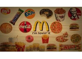食物,艺术的,汉堡,比萨饼,苏打水,法语,炸薯条,爆米花,鸡肉,巧克