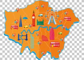 伦敦城,线路,橙色,文本,面积,英国,英格兰,地图,伦敦区,伦敦,伦敦图片