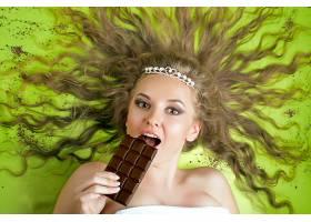 女人,模特,妇女,女孩,脸,巧克力,淡褐色,眼睛,白皙的,壁纸,