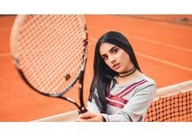 女人,模特,女孩,网球,妇女,黑色,头发,巧克力,壁纸,