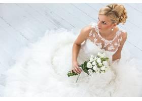 女人,新娘,妇女,模特,女孩,酒香,白色,花,白皙的,白色,穿衣,婚礼,