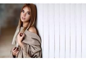 女人,模特,妇女,女孩,白皙的,蓝色,眼睛,壁纸,