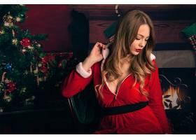 女人,模特,圣诞节,妇女,女孩,情绪,口红,壁纸,