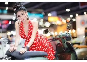 女人,亚洲的,穿衣,妇女,模特,深度,关于,领域,黑色,头发,壁纸,