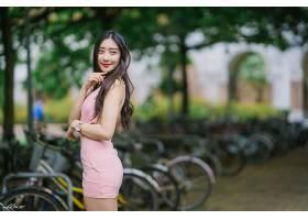 女人,亚洲的,女孩,模特,妇女,黑色,头发,壁纸,(3)