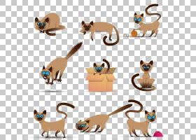 猫狗卡通,动物形象,尾巴,爪子,野生动物,猫,动物,卡通,狐狸,胡须,图片
