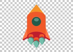 卡通火箭,圆,线路,角度,橙色,美术纸,三角形,计算机网络,火箭,图片