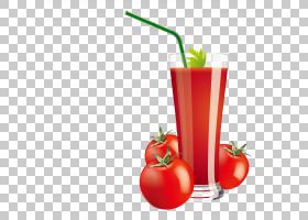 番茄动画,鸡尾酒装饰,减肥食品,静物摄影,食物,西红柿,喝酒,番茄图片