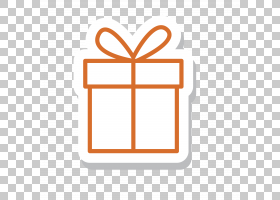 礼品盒圣诞节,矩形,线路,徽标,橙色,点,符号,文本,面积,角度,图标图片