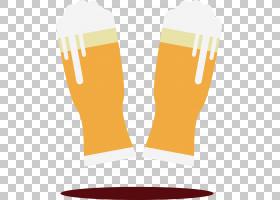 啤酒卡通,关节,橙色,免费啤酒,啤酒花,普通跃点,啤酒,