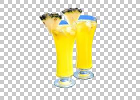 啤酒卡通,啤酒杯,果汁,喝酒,非酒精饮料,玻璃,装饰,橙色,黄色,啤