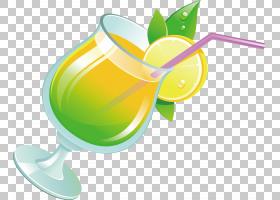 柠檬绘图,鸡尾酒装饰,绿色,黄色,柠檬柠檬,喝酒,食物,杯子,绘图,