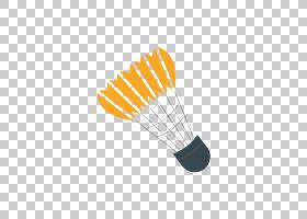 羽毛球动画,线路,运动图形,体育,灰色,运动,羽毛球,橙色,图片